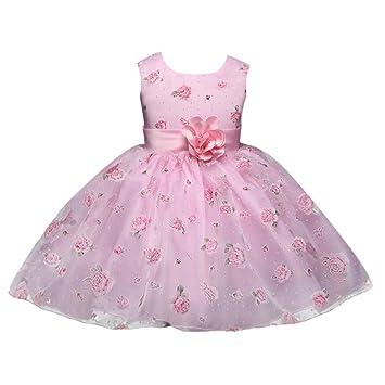 Prinzessin Kleid Madchen Rosa Abendkleid Festlich Kleid