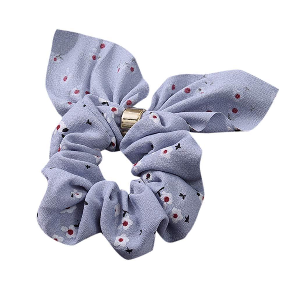 Femmes Élastique Cheveux Anneau De Cravate Cravate Chouchou Ponytail Titulaire Bande De Cheveux Bandeau