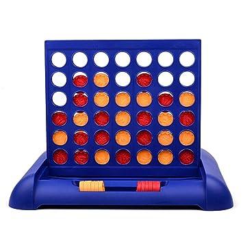 Lixada 4 In A Row Bingo Juego de Mesa para niños a Partir de 5 ...