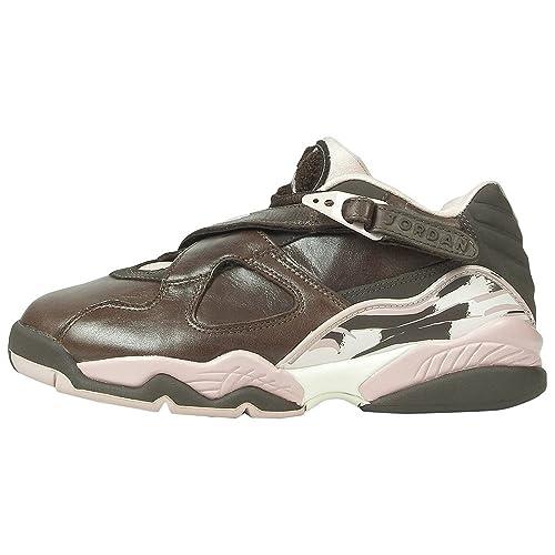 NIKE Womens Air Jordan Retro 8 Low (9.5)  Amazon.co.uk  Shoes   Bags 703e53f024