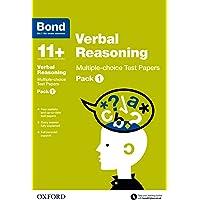 Bond 11+: Verbal Reasoning: Multiple-choice Test Papers: Pack 1