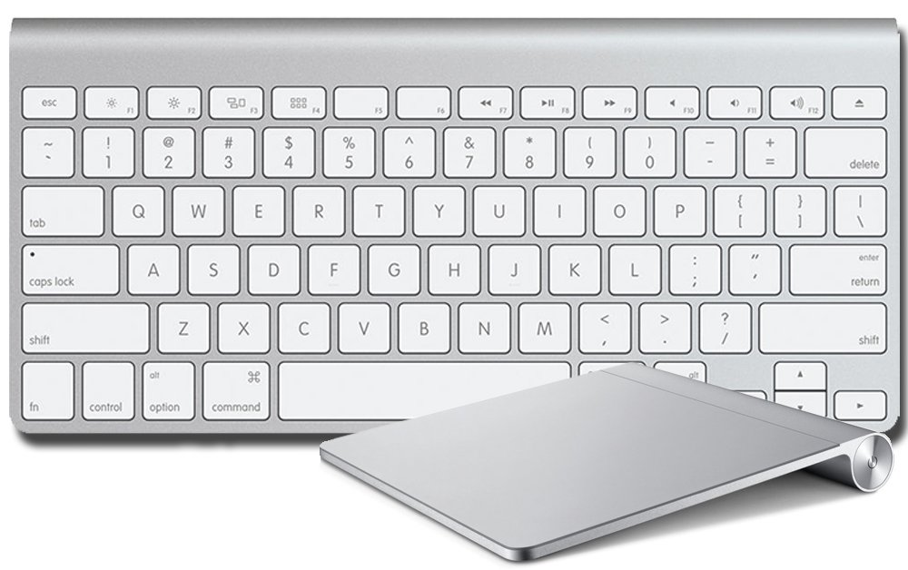 Apple Bluetooth (Trackpad and Keyboard)