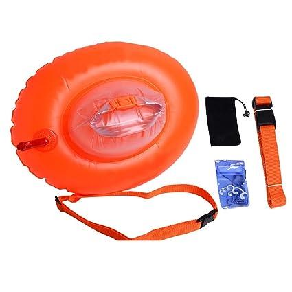 mofek Swim Burbujas para abierto agua Natación boya de seguridad nadar entrenamiento de natación hinchable flotador