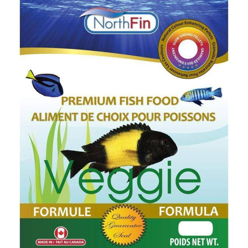 3mm Pellet North Fin Veggie Formula Fish Food 3mm, 2.5Kg
