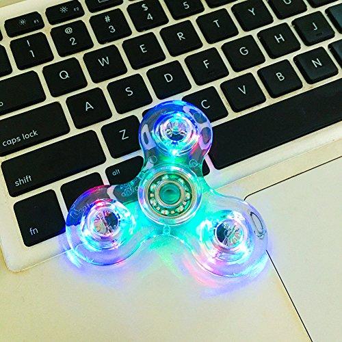 I Pure Items LED Light Fidget Spinner High Speed Hand Spinner