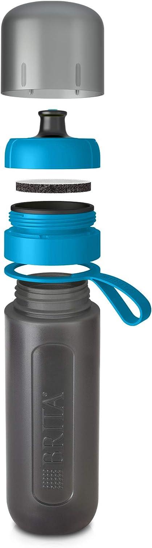 7.6 x 8 x 25.5 cm Plastique Citron Vert BRITA Fill et Go Active Filtre /à Eau Bouteille