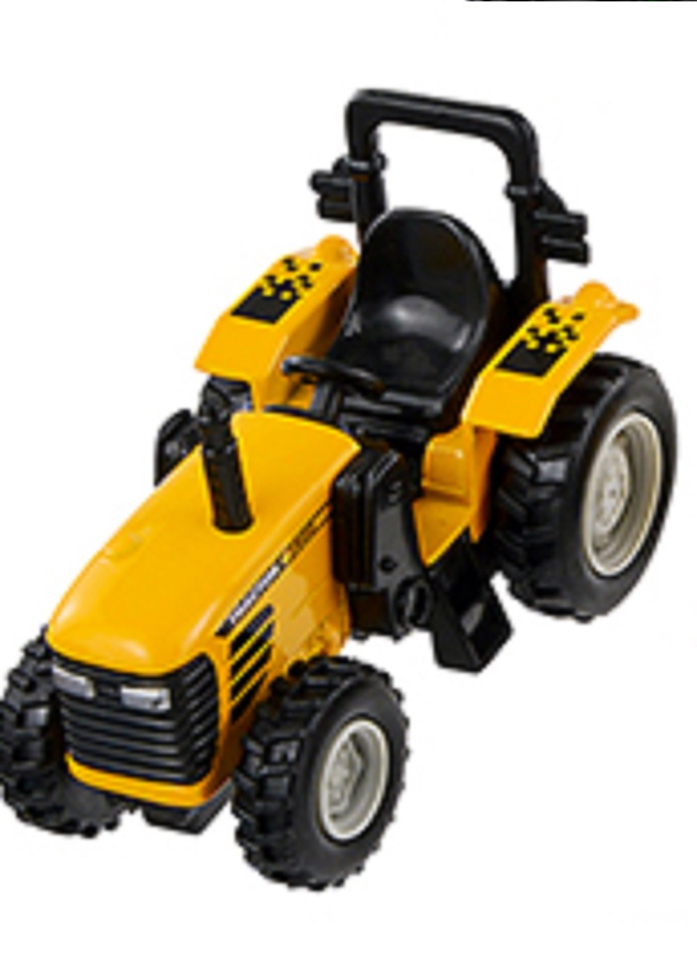Pull Pull Pull Back and Go - 4 Inch Power Tractor - (Gelb) 1e40ef