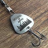 Best Sierra Metal Design Birthday Gift For Men - Hooked on you Husband Boyfriend Gift Fishing Lure Review