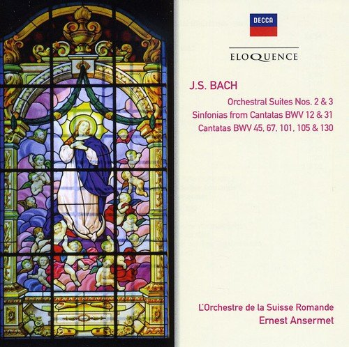Bach J S: Orch Suites & Cantatas