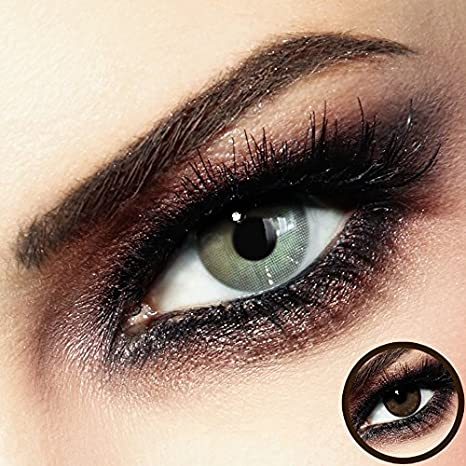 b756d9be17555 Premium lentilles de contact colorées - Tango Gray Beige - sans correction  - Mois lentilles