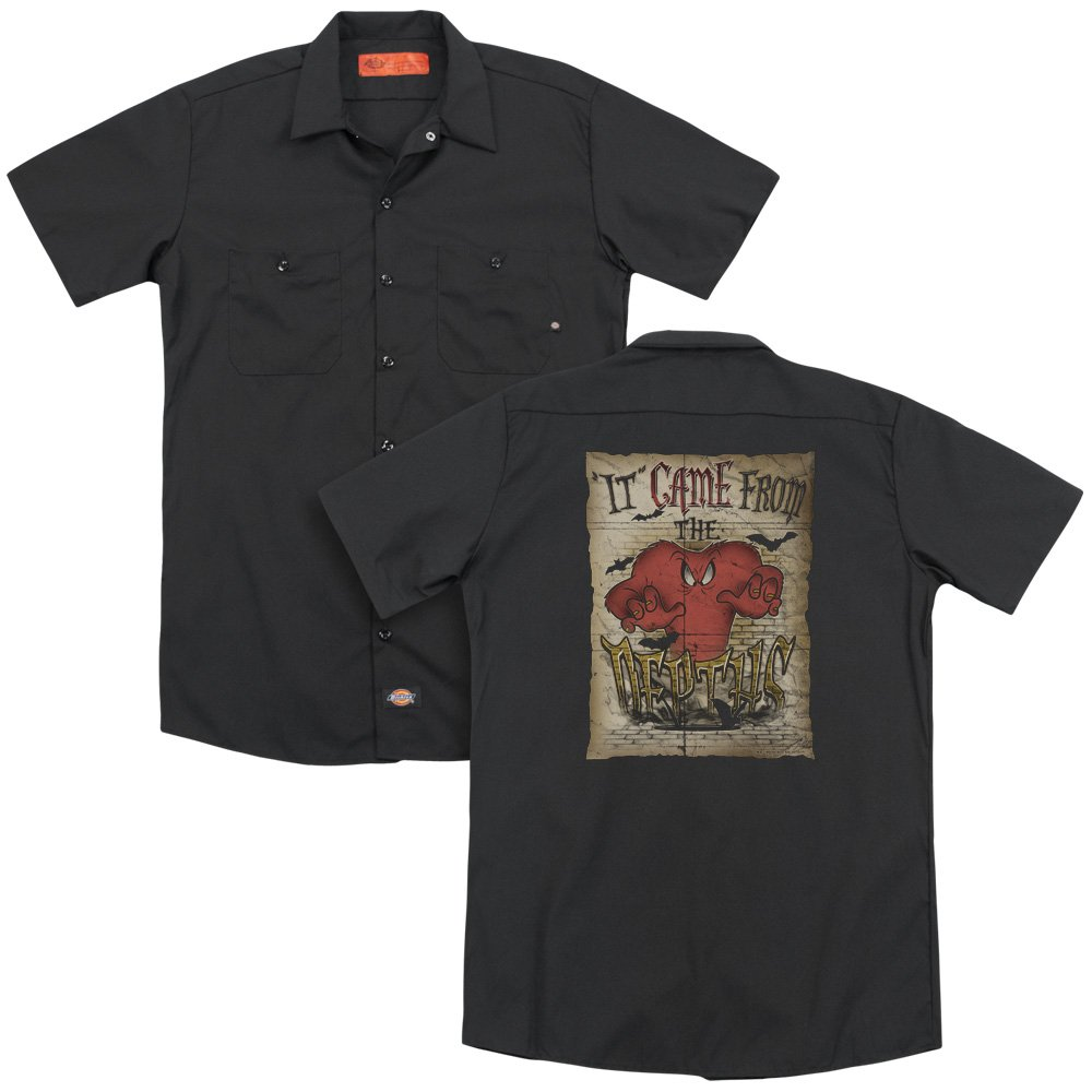 Looney Tunes The Depths Adult Work Shirt