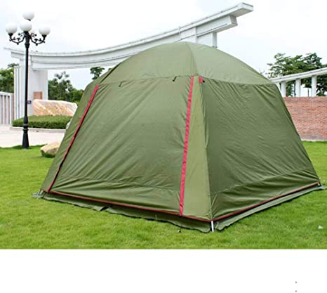 ZAOYUE Carpa para Camping Familiar Playa Impermeable Toldo Doble Carpa jardín Carpa Gazebo: Amazon.es: Deportes y aire libre