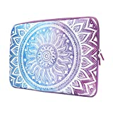 iCasso 13-Inch Stylish Soft Neoprene Sleeve Case Cover Bag For Macbook Air / Pro / Retina 13 Inch/2016 New Retina 13 Inch( Purple Medallion)