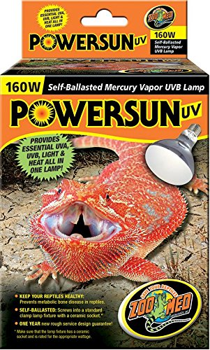 Zoo Med PowerSun Mercury Vapor