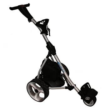 Trolley Carro Caddie de Golf eléctrico Bentley 200w Batería 35A - Plateado: Amazon.es: Deportes y aire libre