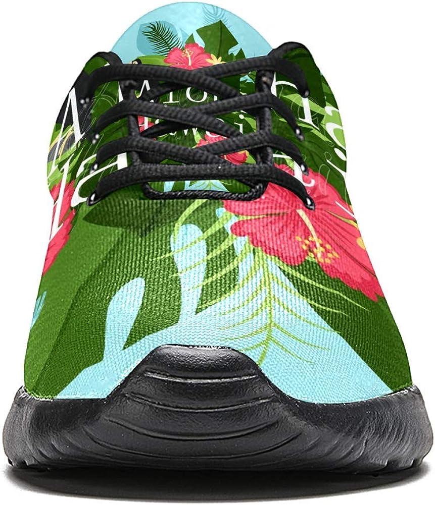 LORVIES Toucan con Hawaii Aloha - Zapatillas de deporte para ...