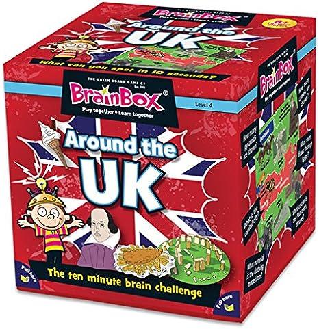 Brain Box Alrededor de los Juegos de Tarjeta UK: Amazon.es: Juguetes y juegos