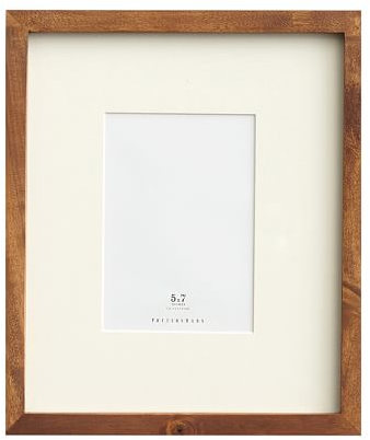 Wood Gallery Single Opening Frames - Rustic Wood | Pottery Barn