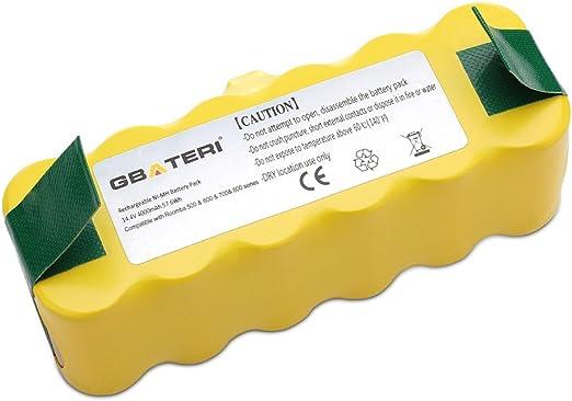 GBATERI 14.4V Irobot Roomba Batería de reemplazo NiMh 4000mAh para ...