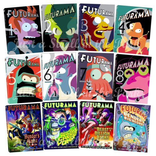 futurama season 6 - 9