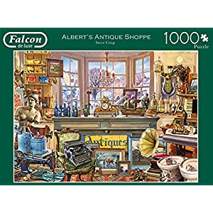 Jumbo Spiele 11188 Puzzle Falcon Alberts Antique 1000 Pezzi