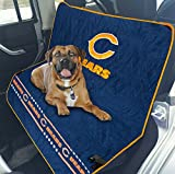 Pets First NFL CAR SEAT Cover - Chicago Bears Waterproof, Non-Slip Best Football Licensed PET SEAT Cover for Dogs & Cats.