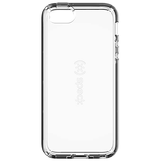 e98a435d027 Speck Products 77157-5085 CandyShell Clear Cell Phone Case for iPhone  SE/5/5S - Retail Packaging - Clear