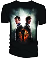 Doctor Who Day Of The Doctor Mens Black T-Shirt