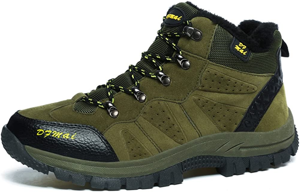 BETY Chaussures de Randonn/ée pour Homme Femme Outdoor Sports Cuir Imperm/éable Boots Marche