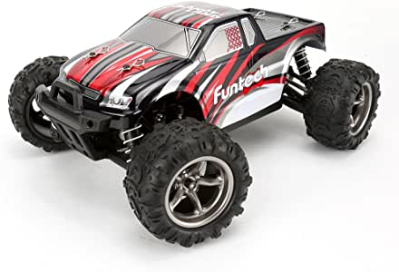 RC Car 4WD Racing 1/18 Scale Remote Control Trucks Offroad Electric High Speed RC Cars 26+MPH(Red)