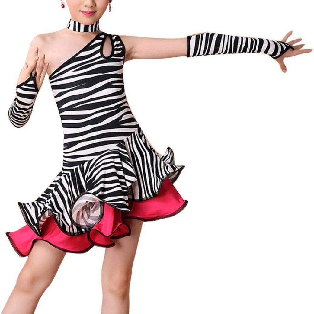 08dc35aeb 👗Jimmkey Toddler Kids Girls Latin Ballet Dress Party Dancewear ...