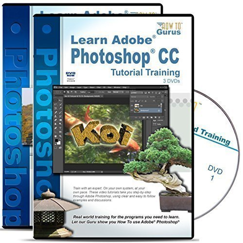 Adobe Photoshop CC Tutorial plus Photoshop Photography Effects Training Bundle 4 DVDs Over 26 hours of Training 371 lessons by How To Gurus