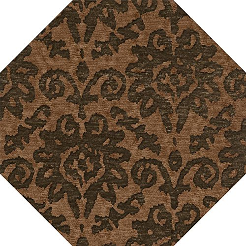 Dalyn Rugs Bella BL10LT10OCT Area Rugs, 10' Oct, Leather