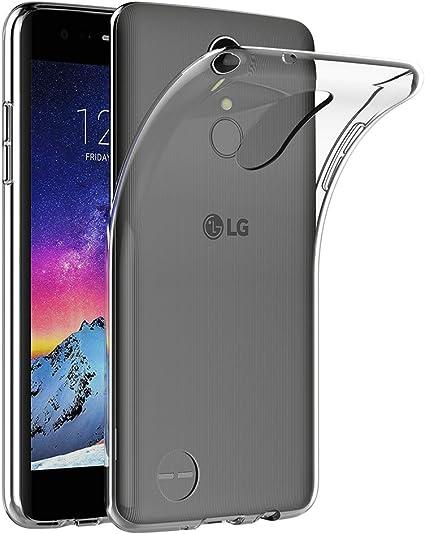 AICEK Funda LG K8 2017, Transparente Silicona Fundas para LG K8 ...