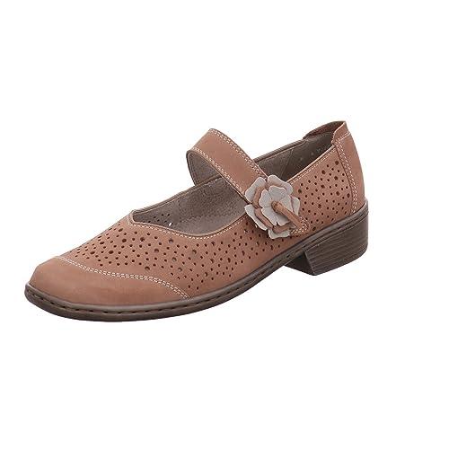 Jenny 2254269-05 - Mocasines para Mujer Marrón Taupe Weite H: Amazon.es: Zapatos y complementos