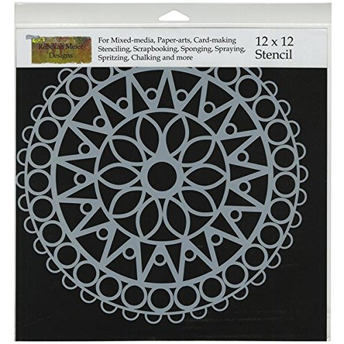 CRAFTERS WORKSHOP Template, 12 by 12-Inch, Stained Glass ()
