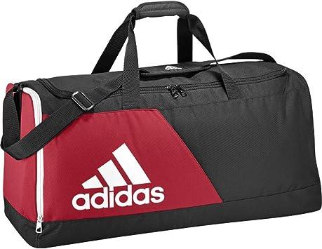 adidas sac de sport modele tiro logo 13 noir rouge m