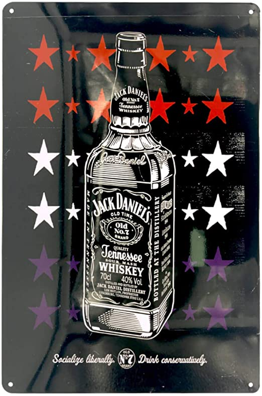 Metal Tin Sign jack daniel/'s Decor Bar Pub Home Vintage Retro Poster Cafe ART