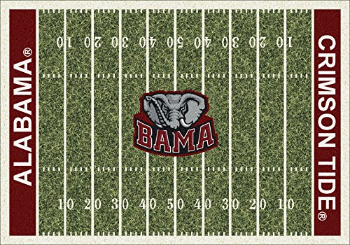 - American Floor Mats Alabama Crimson Tide NCAA College Home Field Team Area Rug 3'10