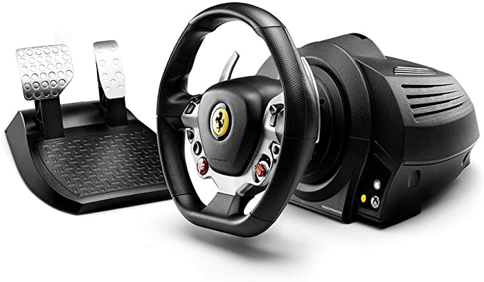 Thrustmaster TX RACING WHEEL FERRARI 458 ITALIA EDITION: Thrustmaster: Amazon.es: Electrónica