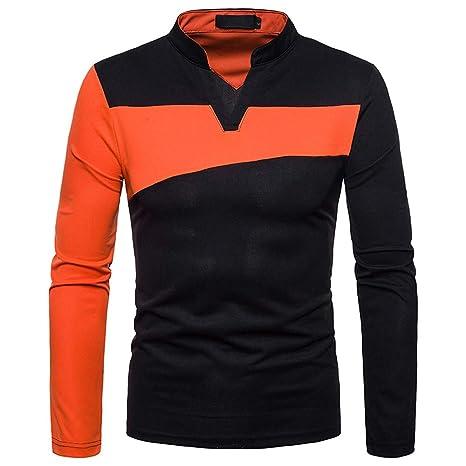 TWBB Hombre Ropa Horizontal Rayas Polo Camiseta de Slim Fit ...