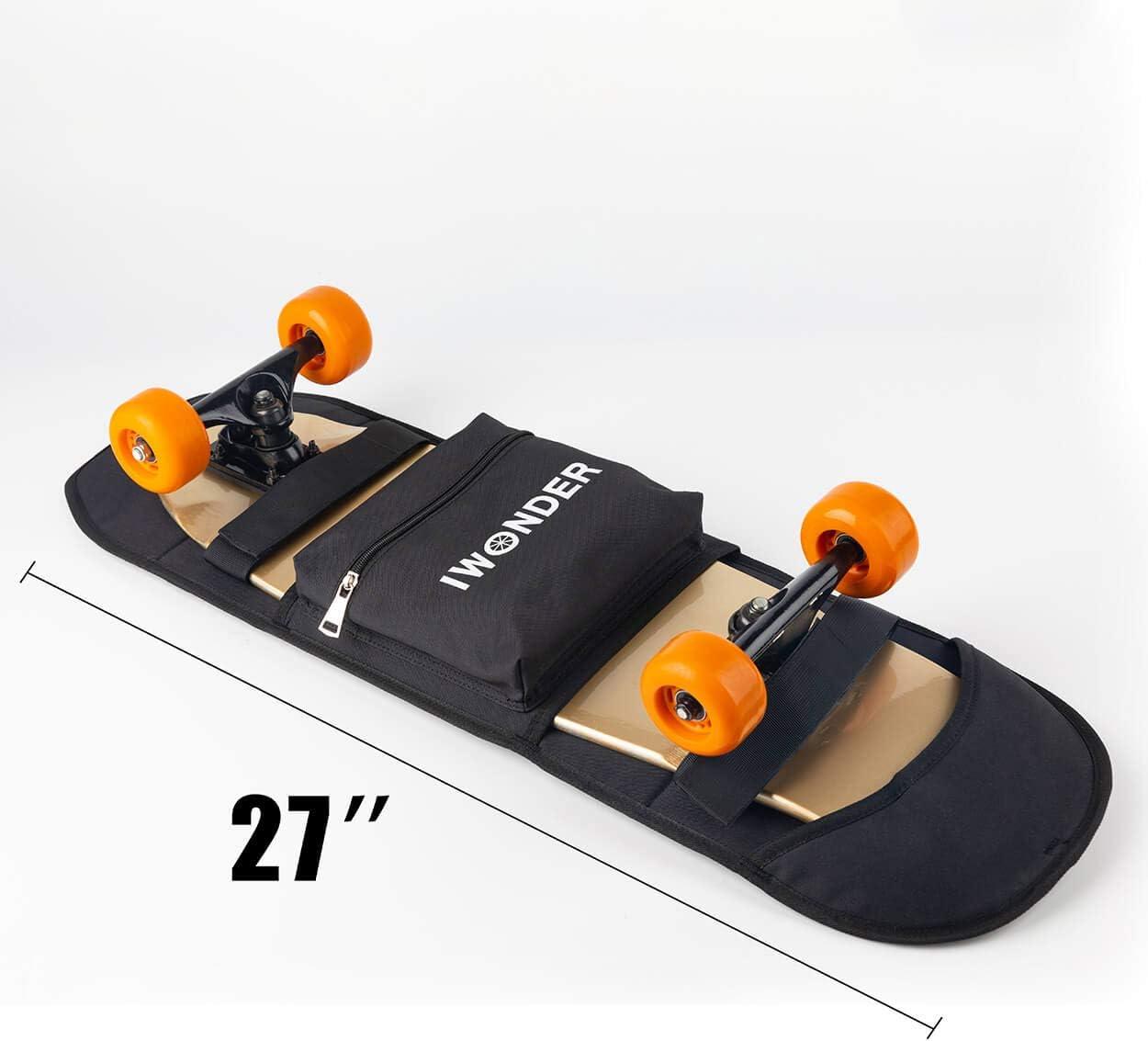 IWONDER Electric Skateboard Bag Longboard Adjustable Shoulder Foldable Carrier Travel Backpack