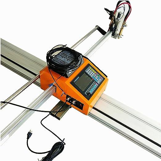 Portátil CNC máquina de corte Para El Corte llama/Plasma: Amazon ...