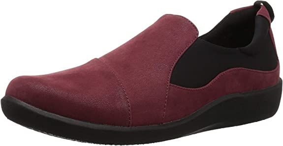 5. Clarks Women's CloudSteppers Sillian Paz Slip-On Loafer