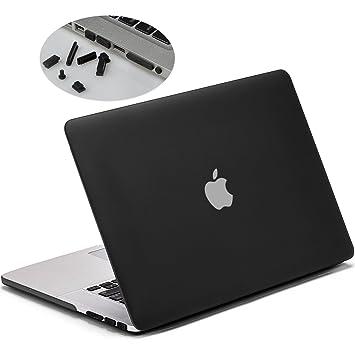 LENTION Funda rígida de plástico Compatible MacBook Pro (Retina, 15 Pulgadas, Mediados de 2012 a Mediados de 2015) - Modelo A1398, Acabado Mate con ...