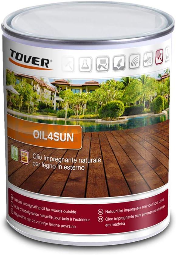 Tover Oil4Sun - Aceite impregnante natural para madera en ...
