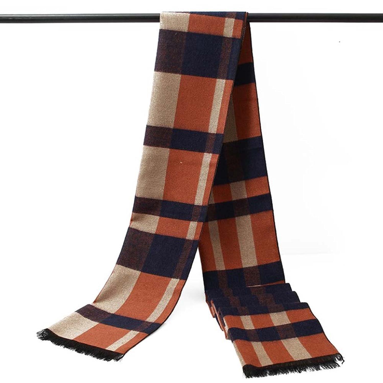 striped scarves plaid temperament Scarf Warm Scarf