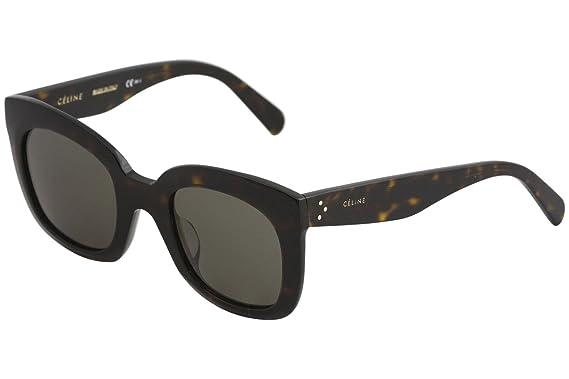 4e2d7ab387 Sunglasses Celine 41385 F S 0086 Dark Havana   70 brown lens at ...
