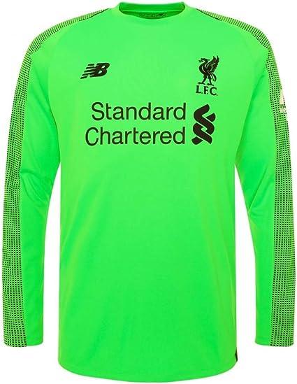 New Balance 2018 2019 Liverpool Away Long Sleeve Goalkeeper Shirt Green Shorts Amazon Canada