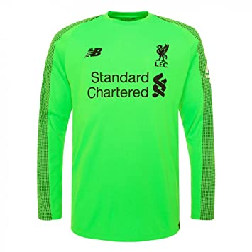 New Balance 2018-2019 Liverpool Away Long Sleeve Goalkeeper Shirt (Kids) c2ee8352b